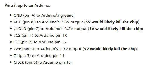 Flashing a BIOS With Arduino - Musings of a Fondue