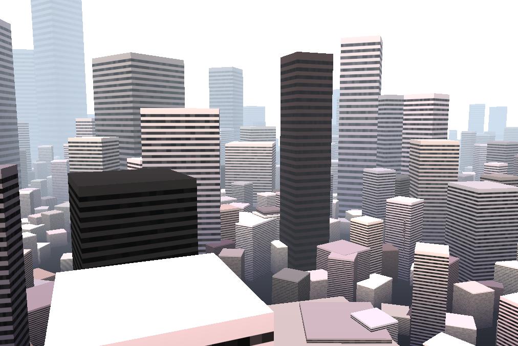 Three js Procedural City - Musings of a Fondue